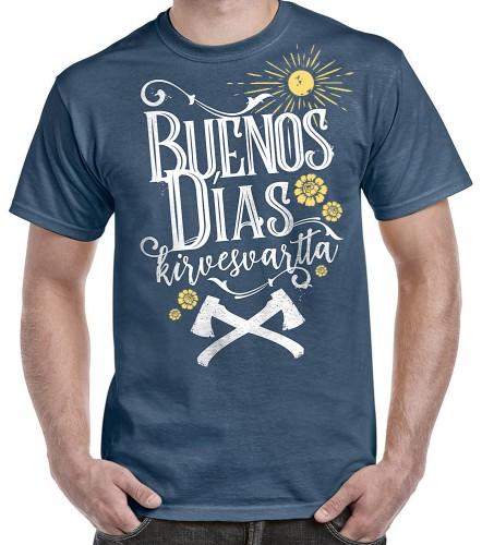 Buenos dias kirvesvartta -paita b12c89fb5f